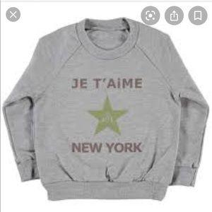 Je T'aime New York shirt